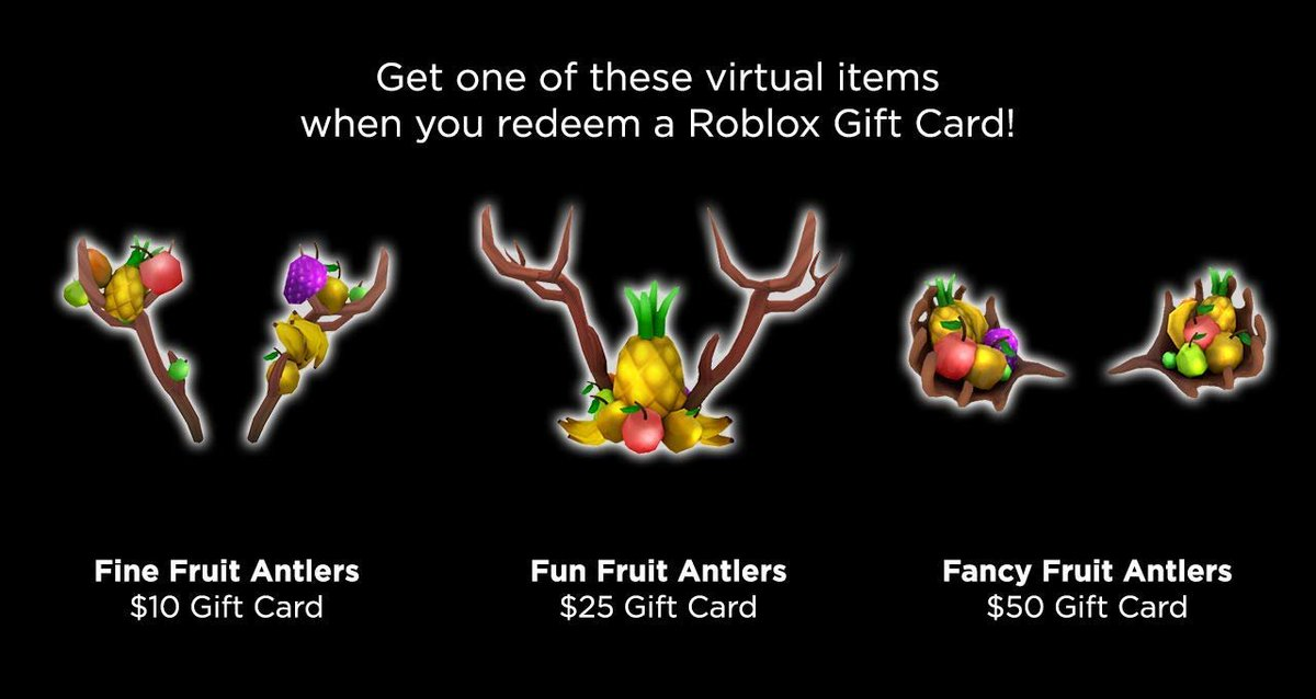 Amazoncom Roblox Gift Card Bloxy News On Twitter There Are Some New Free Accessories You Receive When Purchasing A Roblox Robux Gift Card From Amazon Previously The Robux Backpacks Https T Co 3ukjqfyviw Https T Co Zuqyx1icaw