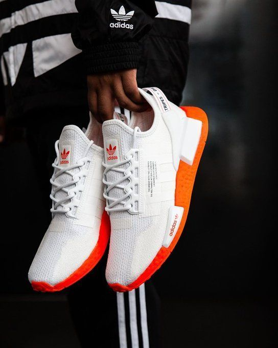 nmd r1 v2 white and orange