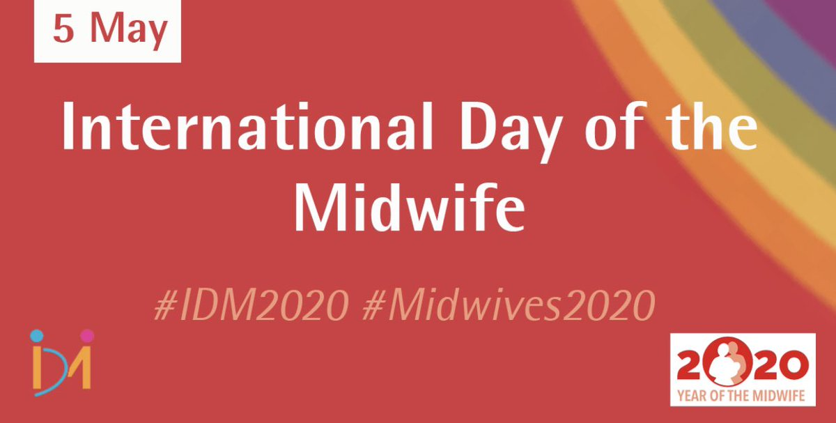 Happy #IDM2020 to my sister @ajapage, all my wonderful midwifery colleagues at @WestMidHospital, @ChelwestFT and @hsib_org, and to all midwifery members of @BICSoc. #Midwives2020 https://t.co/fS73wAFKwQ