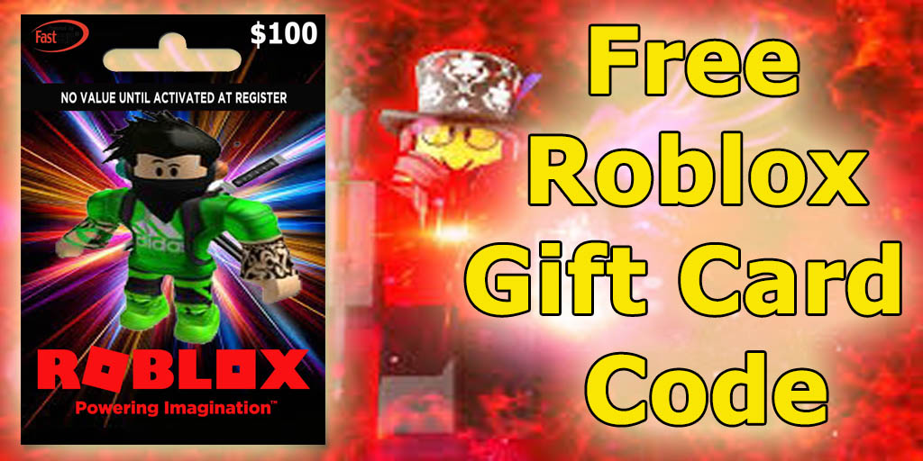 Masudely On Twitter Get Free 100 Roblox Gift Card Code More