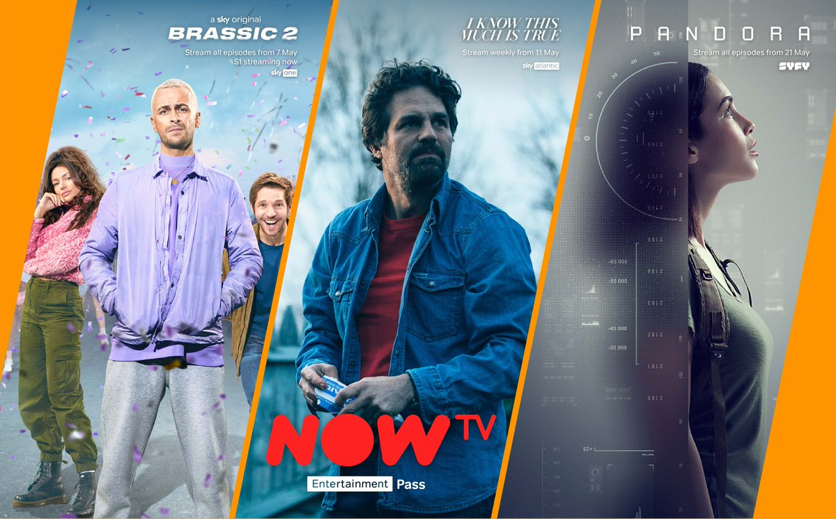 We've got loads of new shows on the NOW TV Entertainment Pass to keep you going this month!  Find out everything you need to know about the Entertainment Pass 👇
