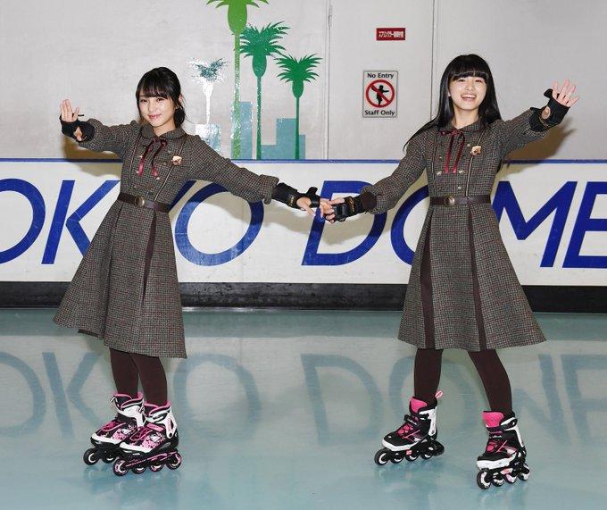 与田桃ローラースケート