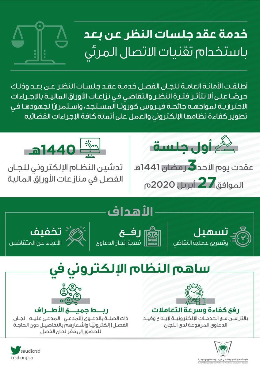 الأمانة العامة للجان الفصل Saudicrsd Twitter