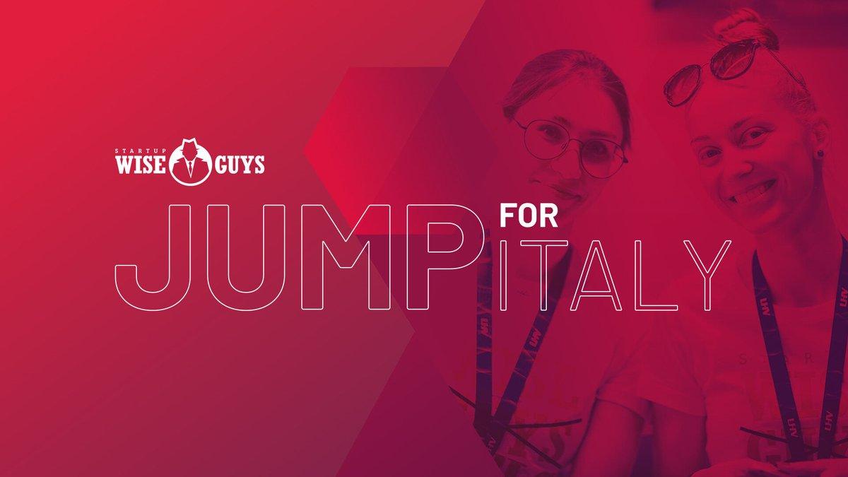 Startup Wise Guys lancia JUMP/IL SALTO. Se sei un imprenditore, un innovatore, uno sviluppatore o semplicemente desideroso di costruire la tua azienda, unisciti per il grande SALTO online. Link di registrazione:  https://t.co/KOzZRsD5JD https://t.co/40TM12hNnR