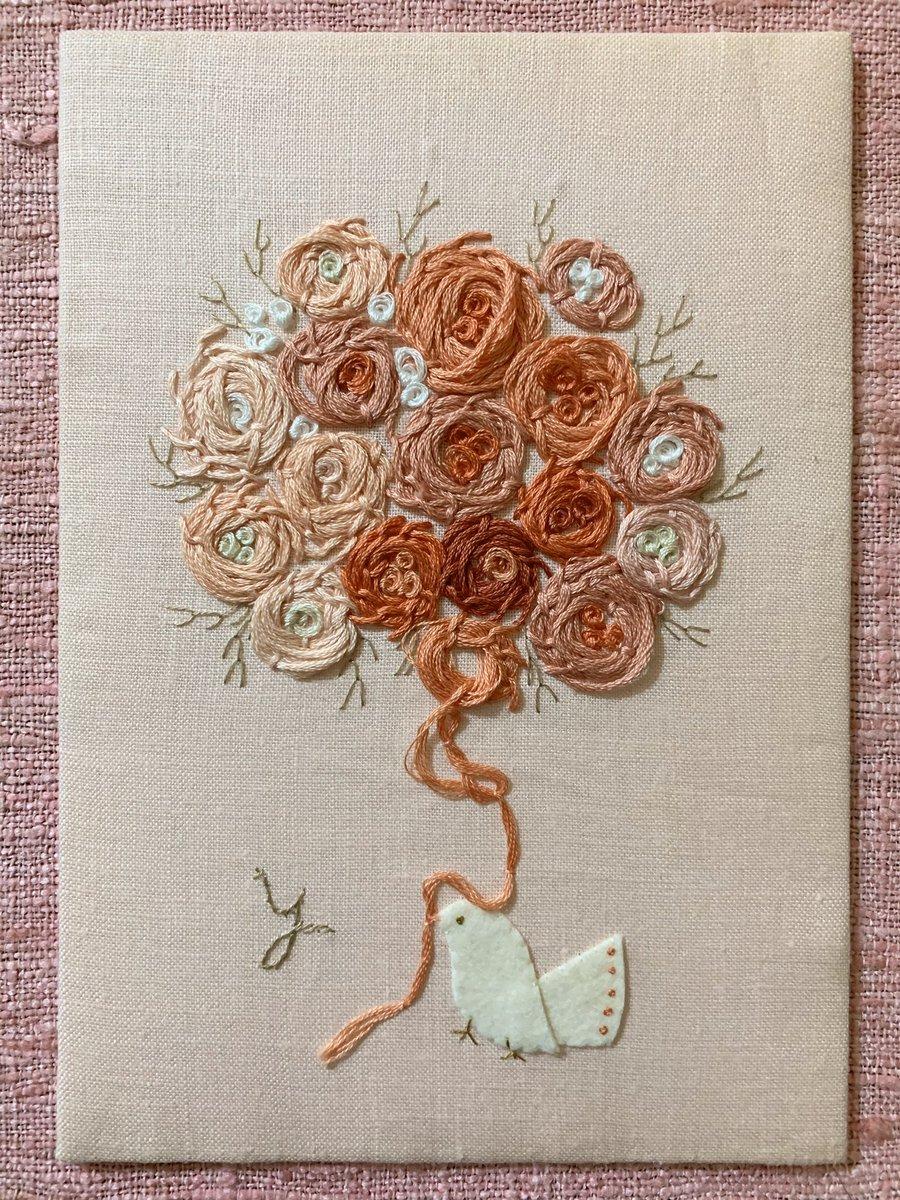 糸 使い方 刺繍