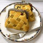 【ハンドメイド】アップルパイそっくりなガマ口財布が話題沸騰中