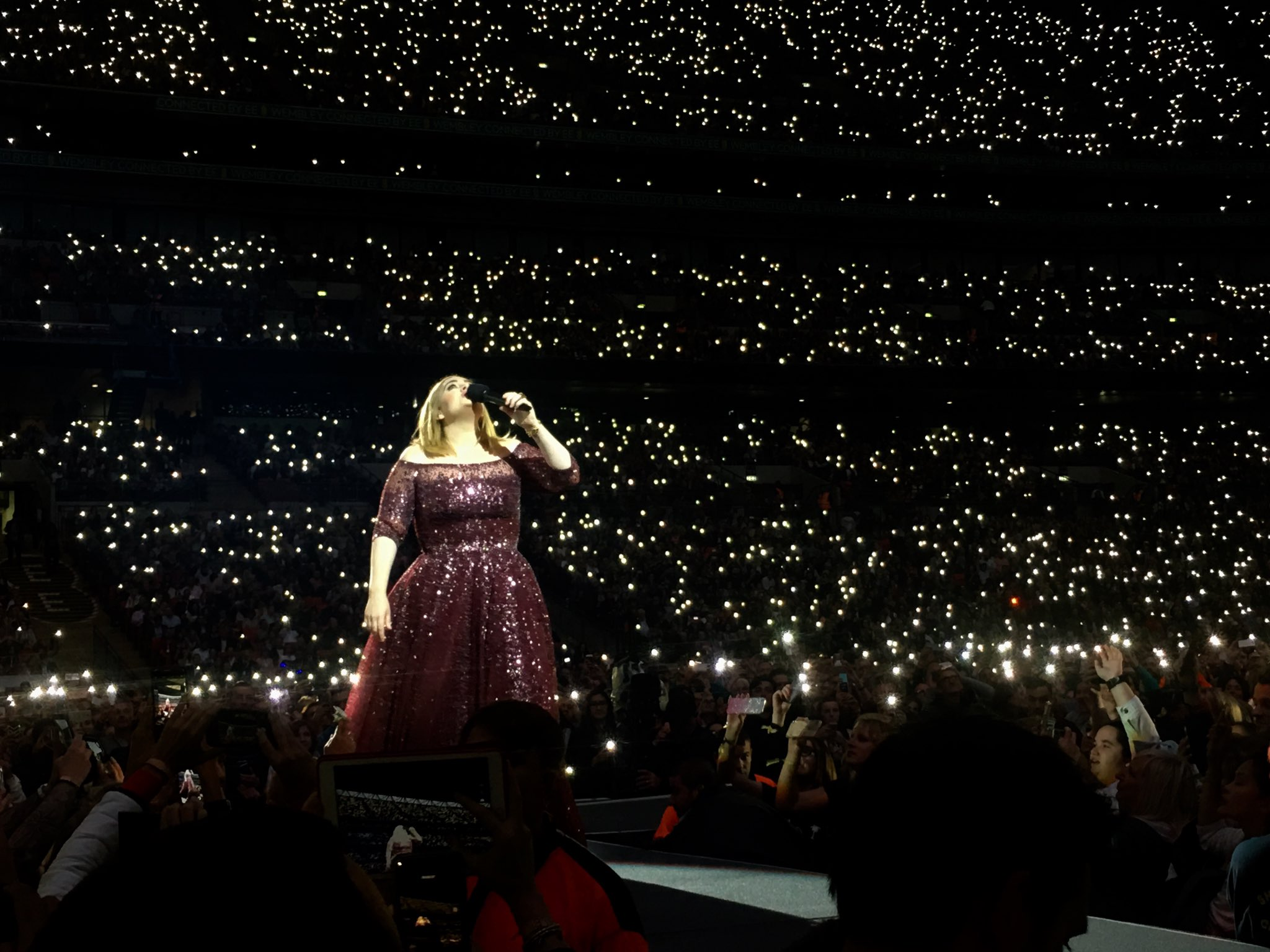 Happy birthday to the one and only, adele. watching her live was a life changing experience.
