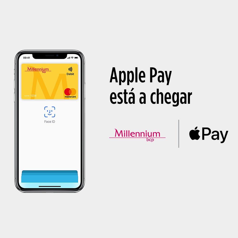 Apple Pay brevemente no Millennium bcp. https://t.co/4zXViIBWlE