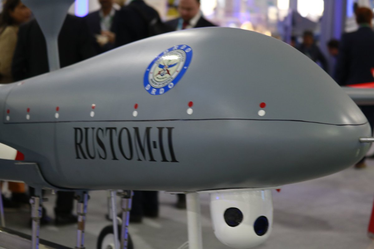 """Amiet R. Kashyap on Twitter: """"Some upcoming Rustom-II tests... 👉Payload's performace at Maximum altitude. 👉The endurance of 24 hours is also remain to be proved. 👉Stable flight at 35000ft. These test are"""
