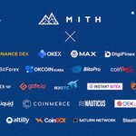 Image for the Tweet beginning: $MITH is listed on 33