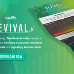 Captify's new insights study, The Revival Index, gives brands fresh & actionable insights around consumer behavior & vertical trends to influence scenario planning, activate recovery plans & seize opportunities for increasing market share. Download here 👉 https://t.co/sLGQSBmVF8
