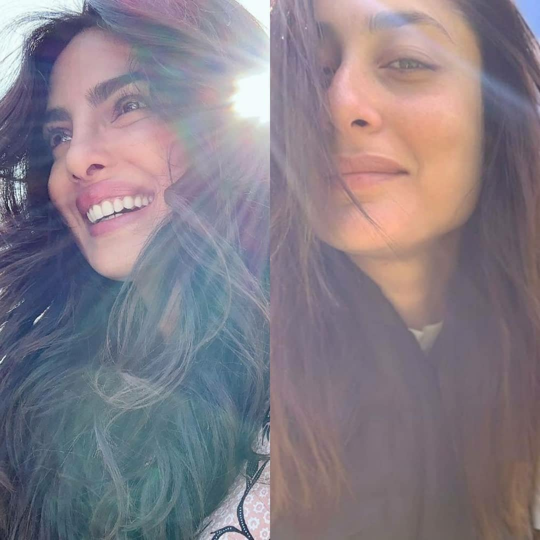 All things pretty  Which actress are you taking cues from for the perfect under sun selfie?  1. Priyanka Chopra Jonas 2. Kareena Kapoor Khan #priyankachoprafc #priyankachopra #kareenakapoorfans #kareenakapoorkhanpic.twitter.com/aLm7ESBC3t