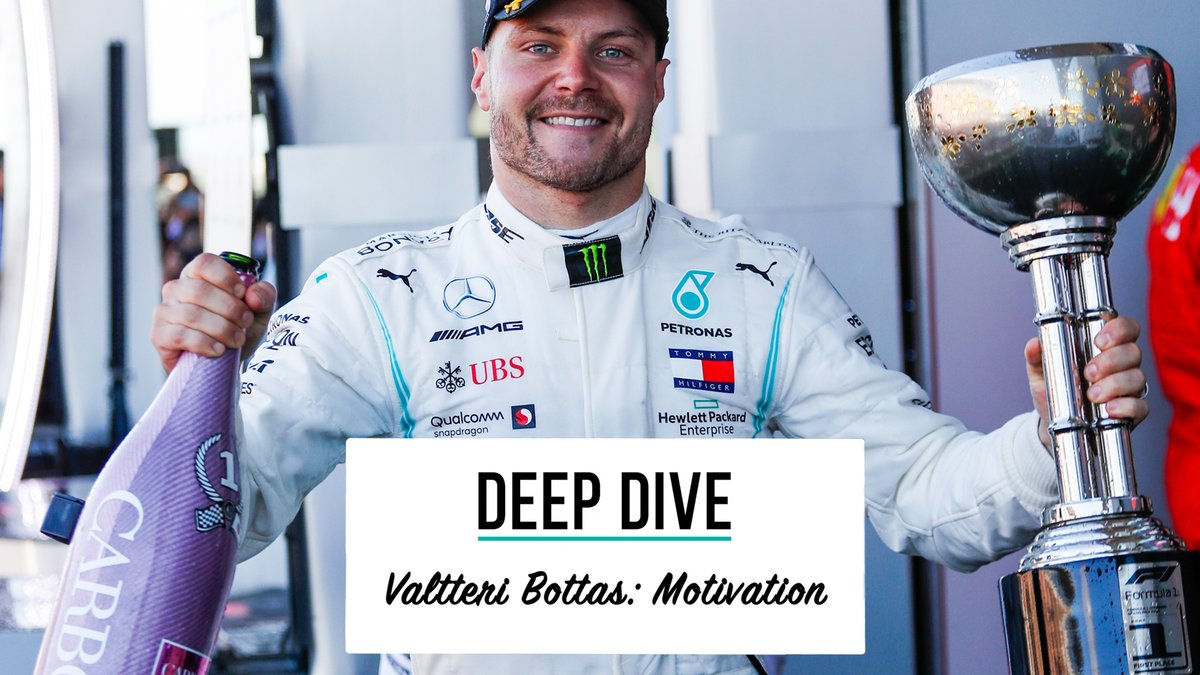 Deep Dive with VB 💪  @ValtteriBottas talks sticking to routines, maintaining high performance and keeping motivated to achieve your goals 👀  Full video 👉 https://t.co/ZHdxFMk6UT