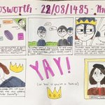 5th Form (Year 7) have been working on projects about the Battle of Bosworth. Read the images and you might just get a new fact to tell people  #history