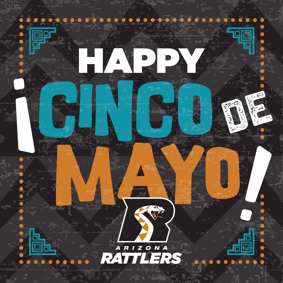 Happy #CincoDeMayo Rattler Nation! https://t.co/MYbT6auir4