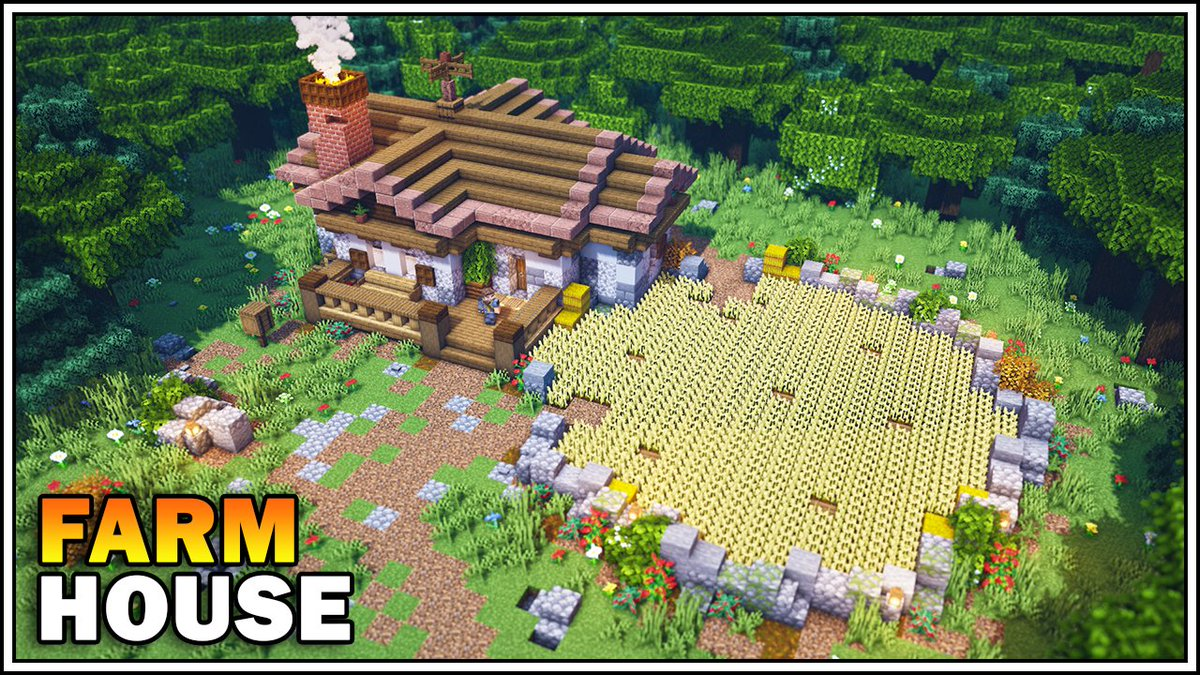 Sausage Of The Dead בטוויטר New Minecraft Farm House Tutorial Is Out Now Watch Here Https T Co Ani0qljl8w Minecraft