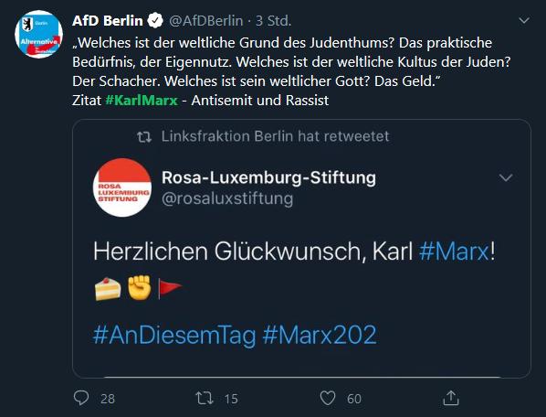 #KarlMarx