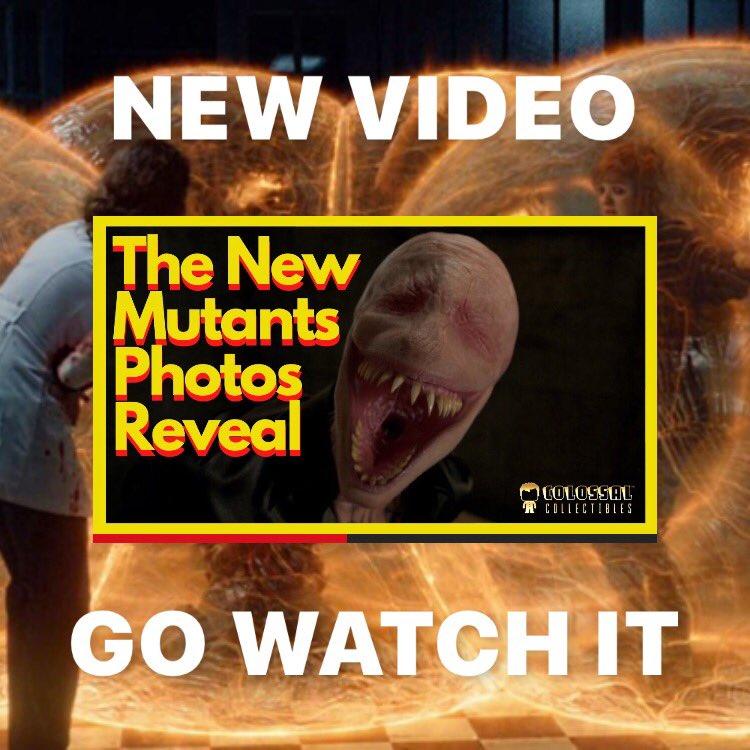 In this video we will be looking into The New Mutants photo leak ____  Link https://t.co/yzQzoXj0nV  ____  #colossalstudiosuk #ColossalCollectibles #NewMutants #TheNewMutants #marvel #mcu #DemonBear #TheSmilyMen #leak  #vod #videoondemand #teaser #spoiler #Illyana #xmen https://t.co/XCZBeEErUL