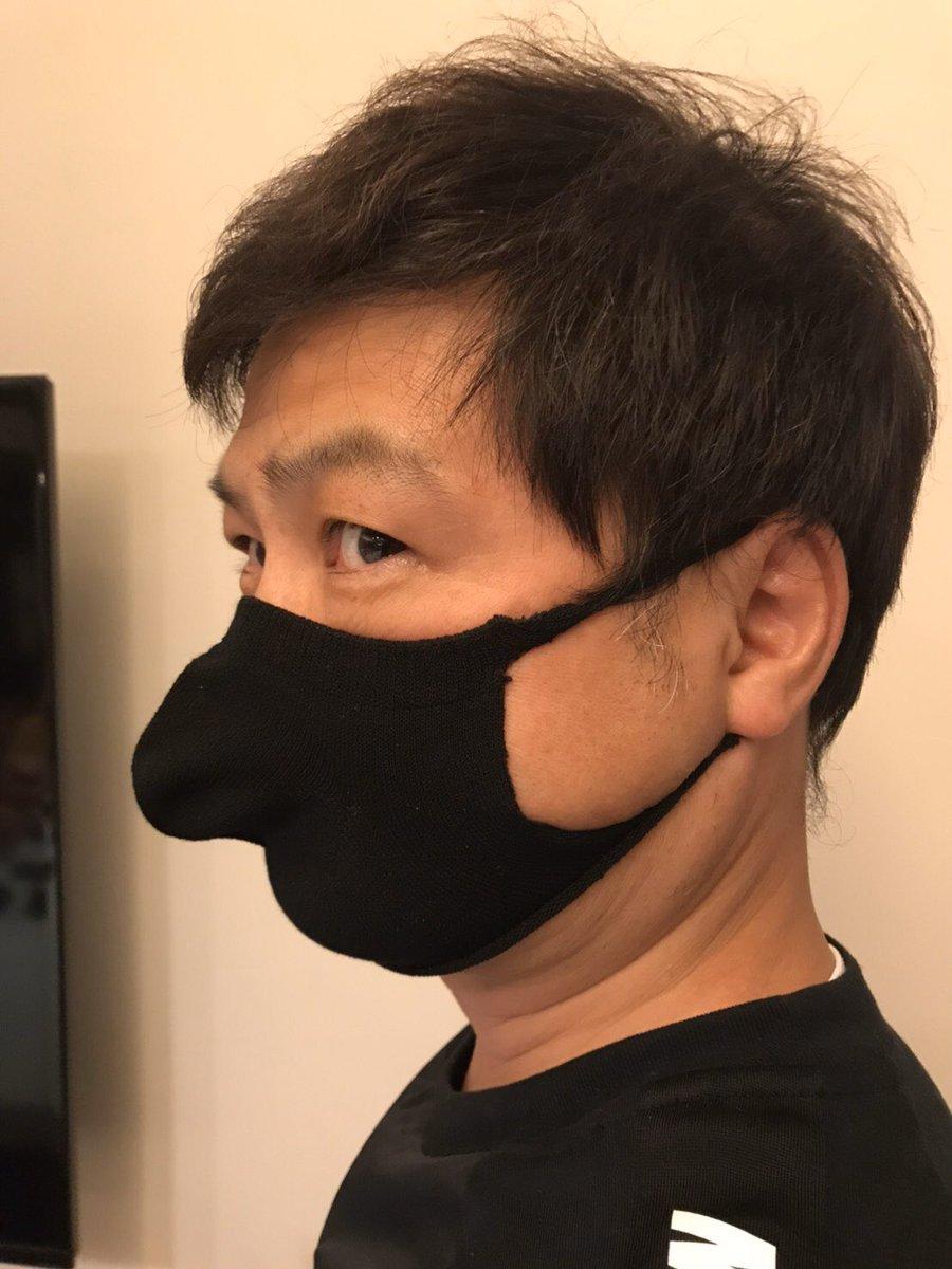 月亭 方正 マスク