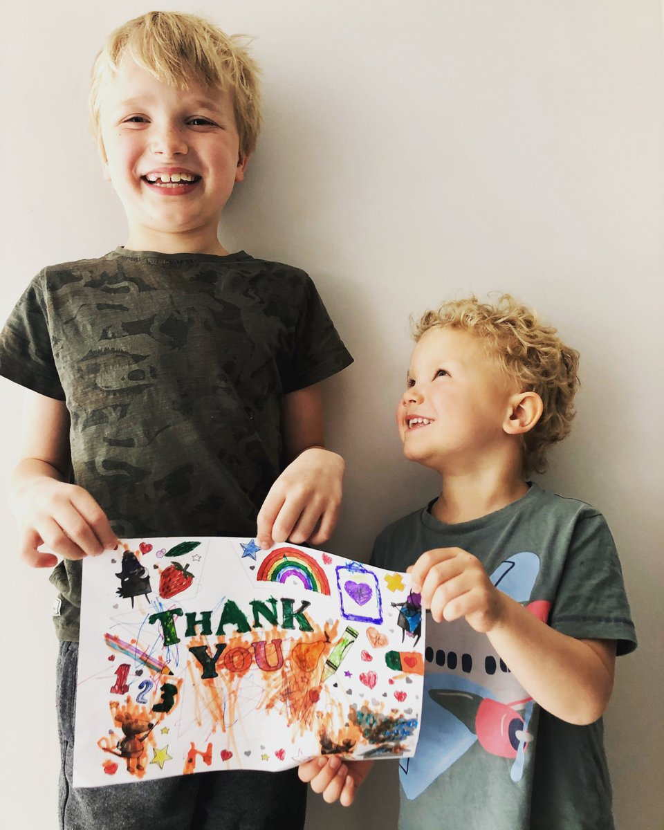 Thank you to everyone who has shared a Thank You card for our #frontlineheroes! 🌈To get involved, hit the link below to download & print one of our colour-in cards.  Please share using #10000thankyous to celebrate those going above and beyond.😍🎨🖍  https://t.co/6B6e3Fx6fU https://t.co/IhtlrbatOQ
