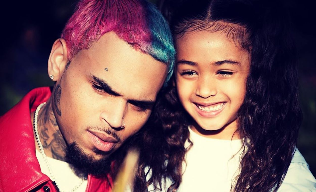 Chris Brown s Birthday Video Featuring His Baby Girl, Royalty Makes Fans Happy