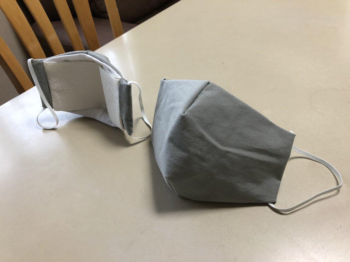 おさかなマスク型紙の作り方