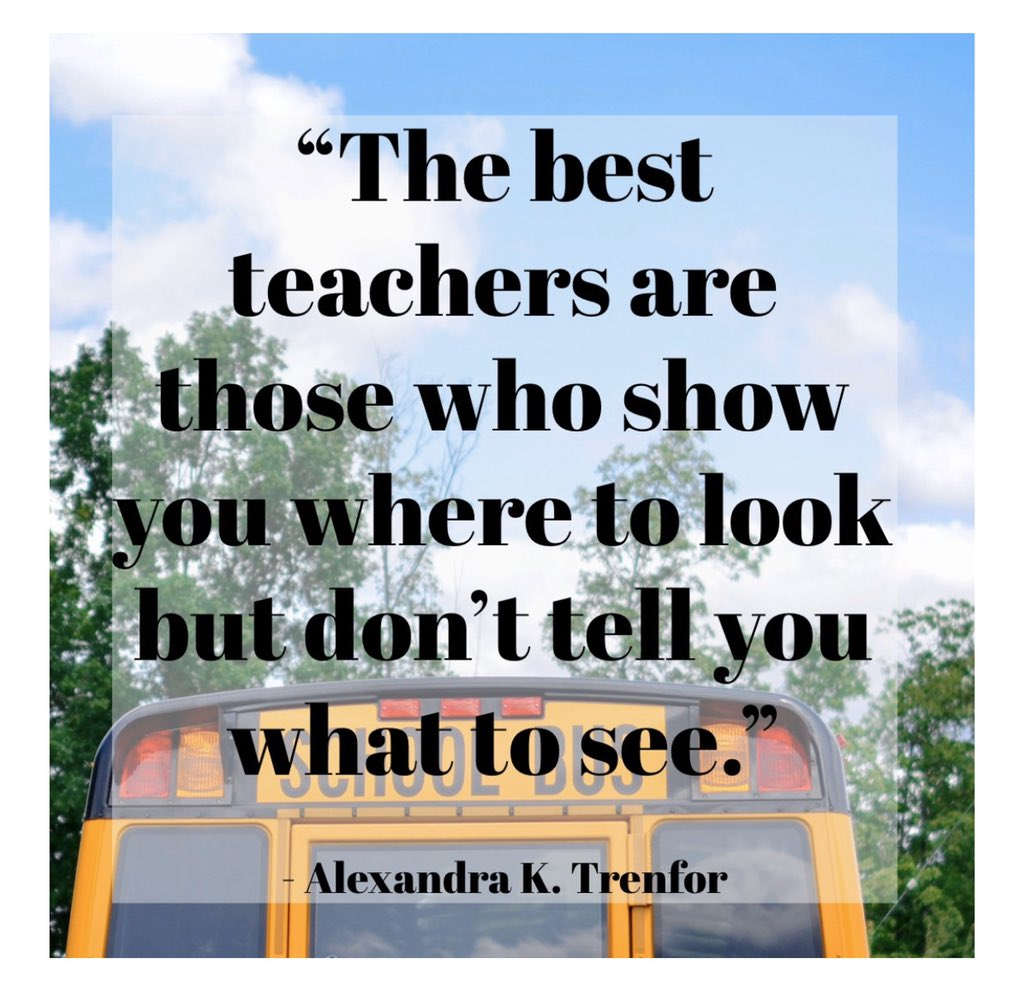 Thank you for always guiding our students. You are amazing! Gratitude!