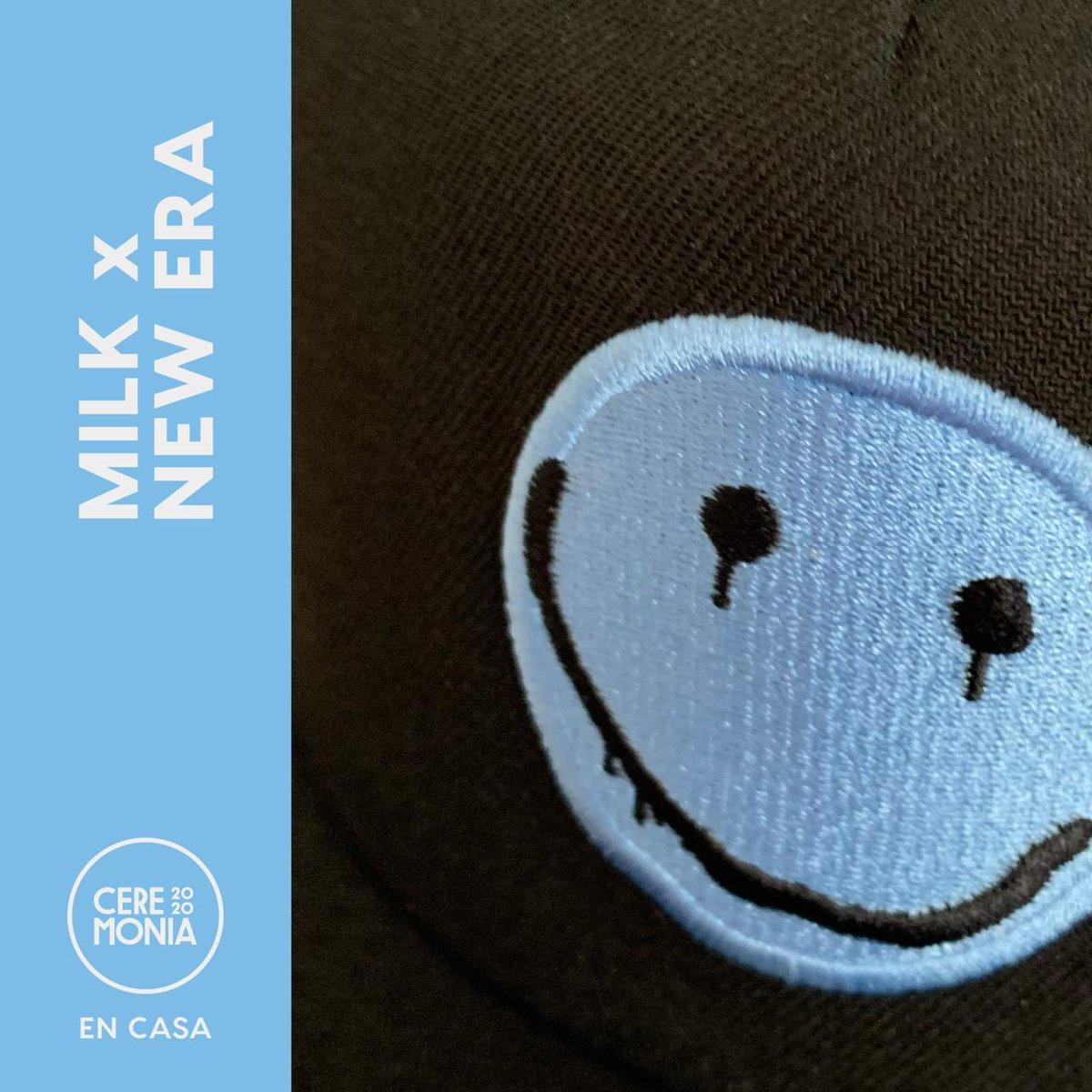 Milk X @NewEraMx  X @CeremoniaFest  Todas las ventas serán donadas💙💙 https://t.co/4UD9nUvkqR https://t.co/UsYOtuGw0N
