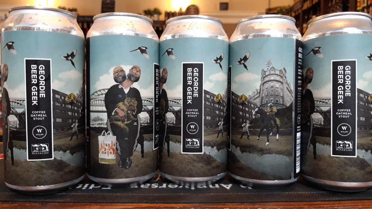 The geek is here.  We know this geek. And we are expecting him in to buy some of these very shortly. GEORDIE BEER GEEK Coffee Oatmeal Stout (7.5%) A collab. with @MikkellerBeer   #craftbeer #Newcastle #CentralStation #beergeek #stoutnerds #shopindie #indieshop #Toon #lockdownbeer https://t.co/ephNmzmSLW