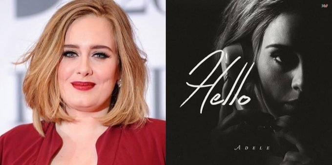 Happy 32nd Birthday to Adele! The singer who performed the 2015 song, Hello.