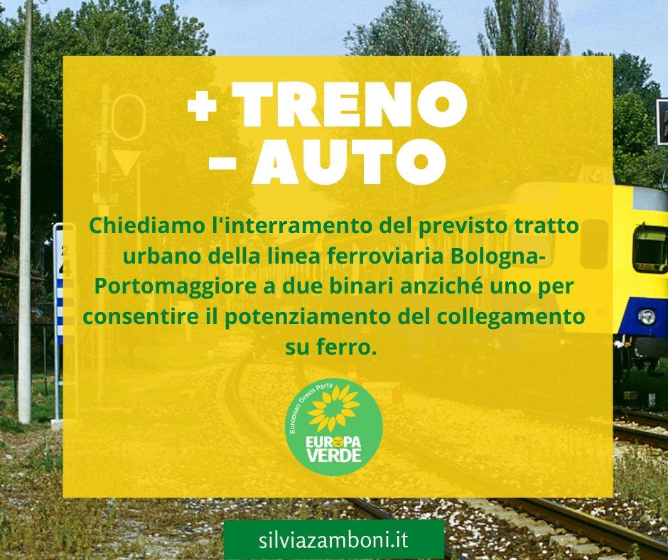 Un nuovo articolo (Interrogazione sulla linea ferroviaria Bologna-Portomaggiore) è su Silvia Zamboni - silviazamboni.it/interrogazione…