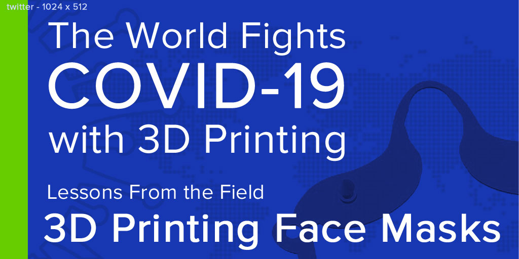Help fight against #COVID19 with 3D printed face masks. Our latest article shares expert tips on how to print, assemble, and distribute the most popular 3D printed face masks designs.  #3dprinting #inthistogether