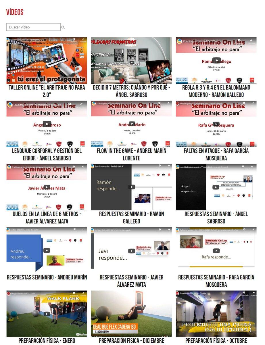 """#Ref40tine I Ya puedes disfrutar del Taller Online """"El arbitraje no para 2.0"""" que fue seguido en más de 11 países.   En total, más de 10 horas de formación arbitral de alto nivel https://www.fmbalonmano.com/arbitros-videos  Noticia completa https://bit.ly/3dkj0TX  #arbitraje #balonmanopic.twitter.com/9evyBu5TTX"""