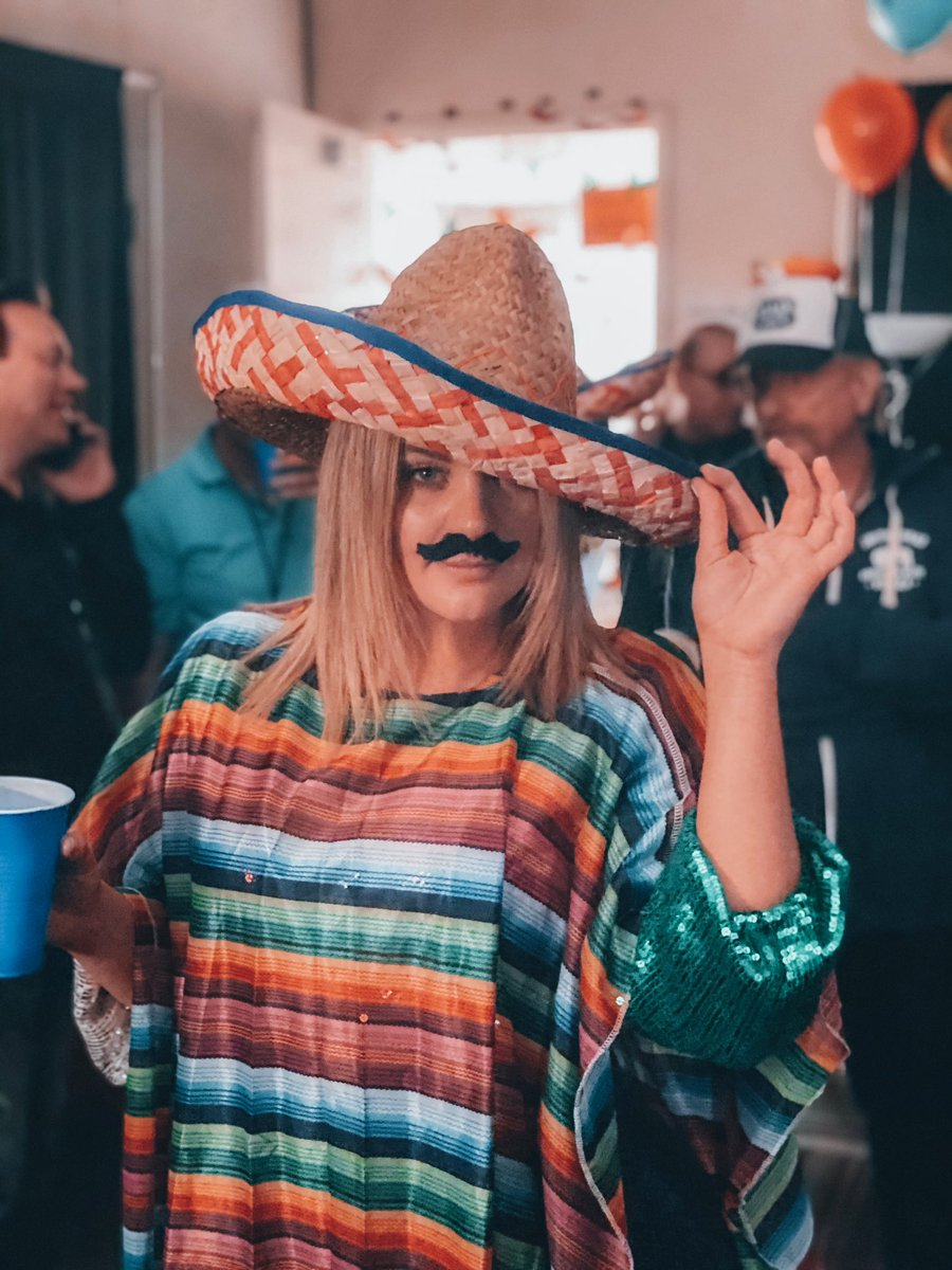 Throwback to when I was SOMBREROver the rainbow. I've got a really important question I mustache you. How many tacos will you consume today? I already ate two for breakfast, but I guess that's nacho business. I don't really wanna taco bout it🌮 #HappyCincoDeMayo