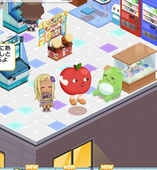 りんごろう 着ぐるみ