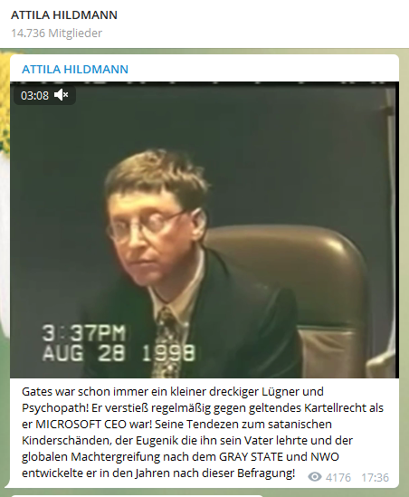 #AttilaHildmann