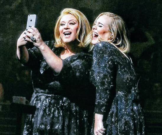 Happy Birthday Adele! May your career as a Delta Work impersonator continue to prosper