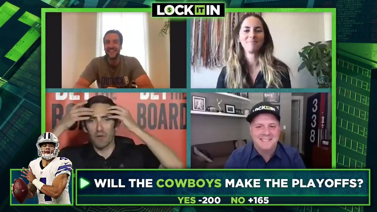 Are the Cowboys a playoff team? @TheCousinSal, @ClayTravis and @ToddFuhrman discuss: