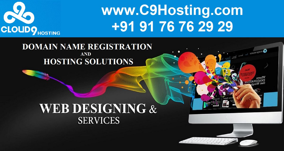 For your Web Solutions  Please contact +91 91 76 76 29 29   Website :  http:// c9hosting.com      #c9hosting #cloud9hosting #domianname #webhosting #webdesigning #webdevelopment #ecommerce #website #hosting #webdesign #wordpress #websitedesign #websitedesign #websitedevelopment<br>http://pic.twitter.com/KaQOXUzmGh