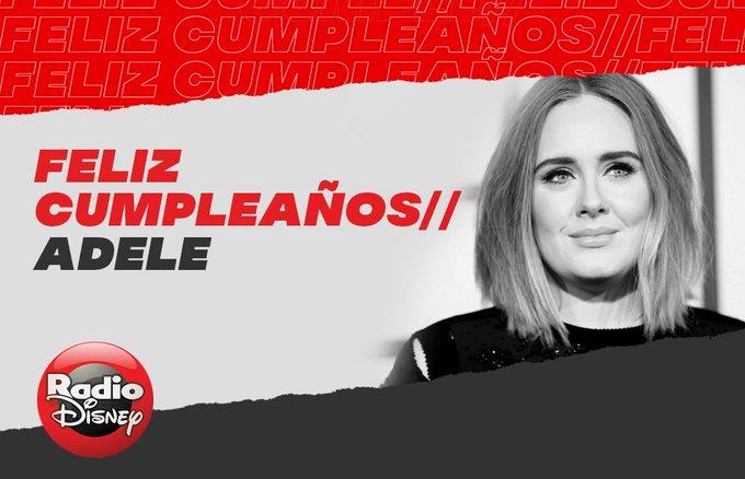 ¡Happy Birthday Adele!   Celebramos el cumpleaños de la cantante y compositora británica