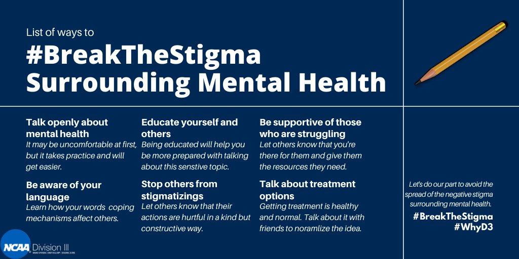 Let us know what your best practices are for breaking the stigma! #BreakTheStigma #WhyD3 https://t.co/52g0F7HQnX