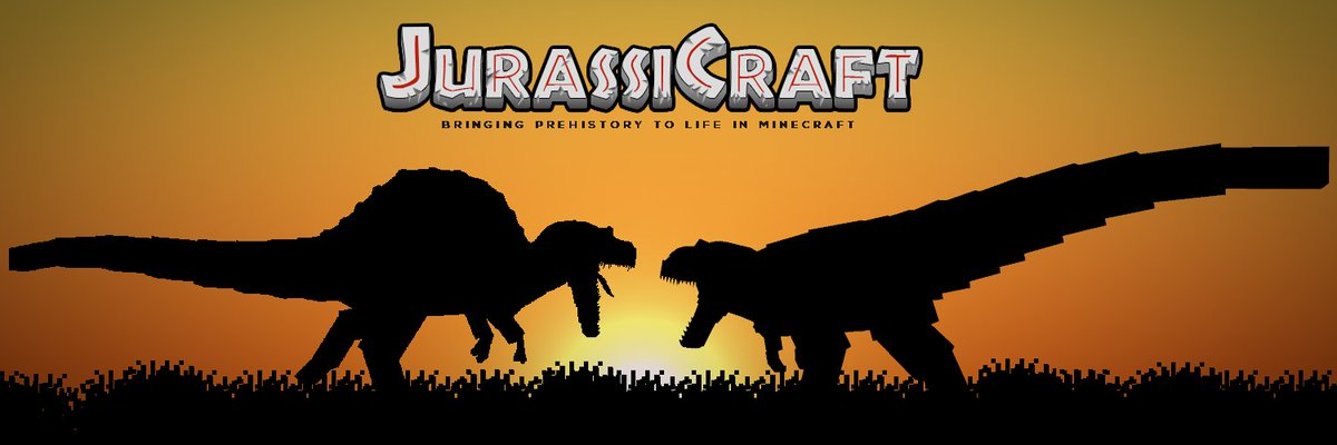 Jurassicraft On Twitter New Twitter Banner Thoughts