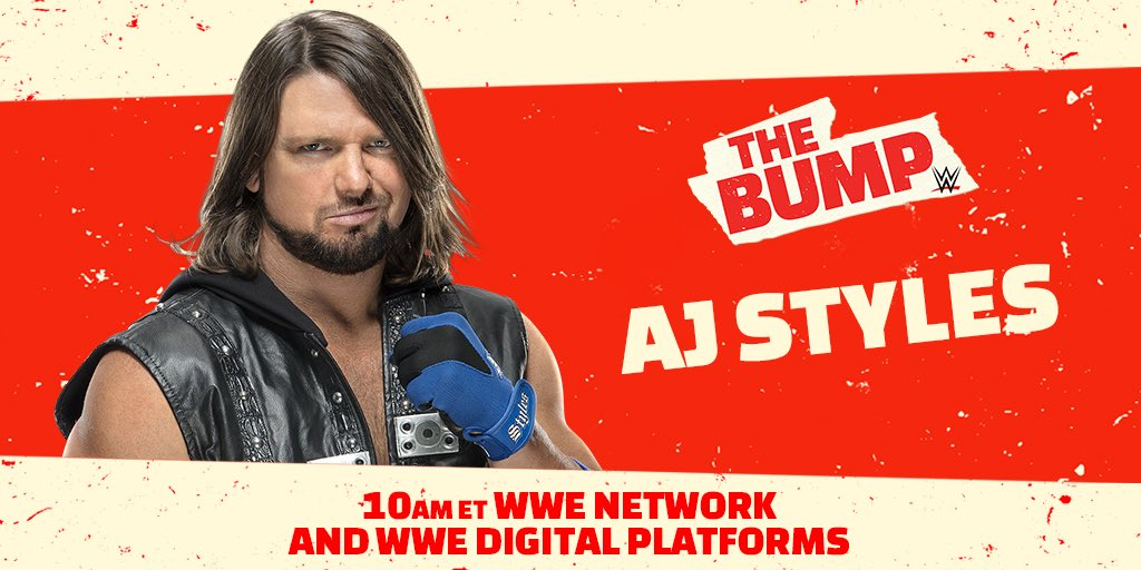 AJ Styles And Others Announced For WWE's The Bump