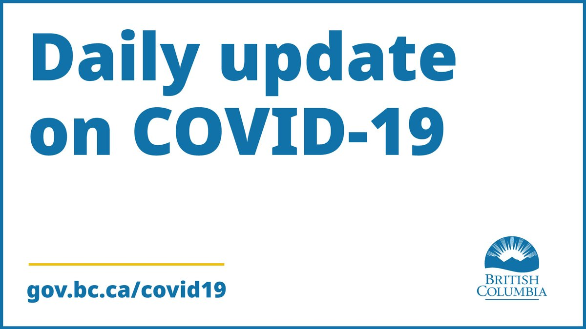 Bc Government News On Twitter Provincial Health Officer Dr Bonnie Henry And Minister Of Health Adrian Dix Will Deliver The Daily Covid 19 Update Today At 3pm Pdt Watch Live On Twitter Bcgovnews