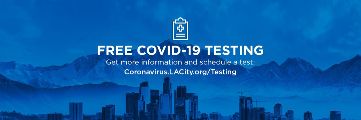 Save lives. Get tested today. Coronavirus.LACity.org/Testing