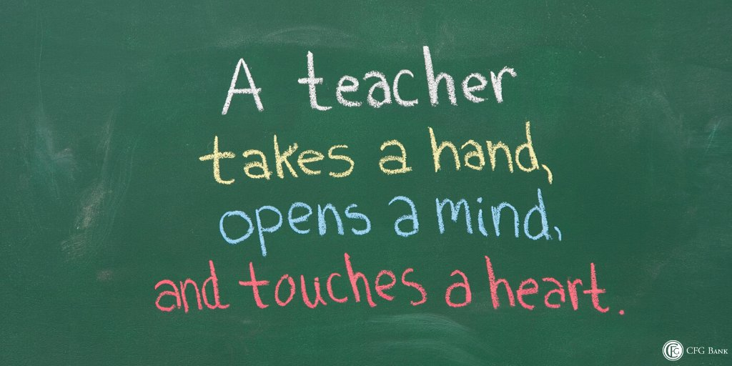 Inspiring us every day, with education and kindness, we cannot thank our teachers enough. #NationalTeachersDay