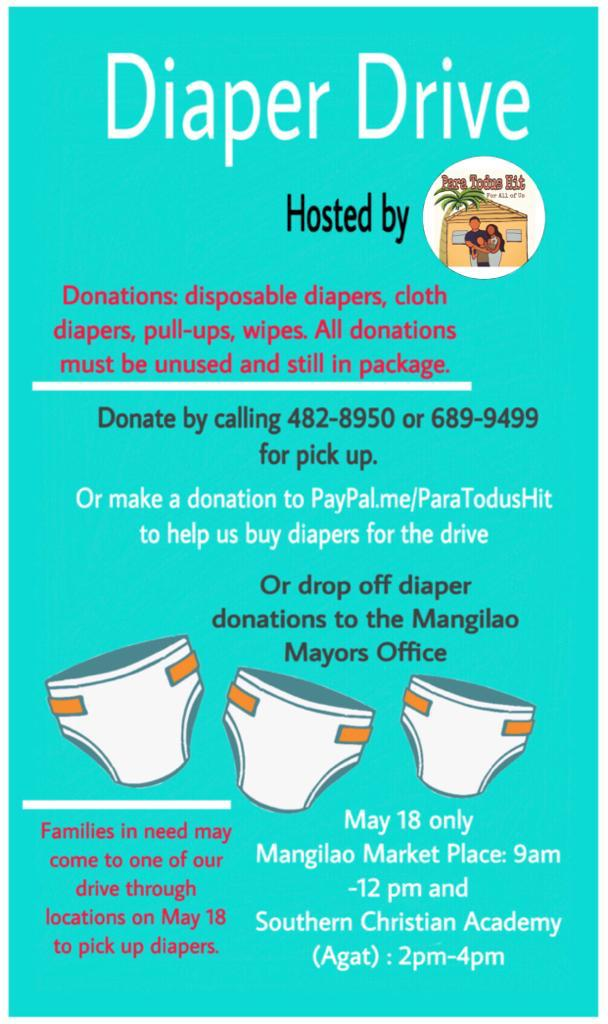 We look forward to distributing the donations on May 18! Donations will continue to be accepted until then.