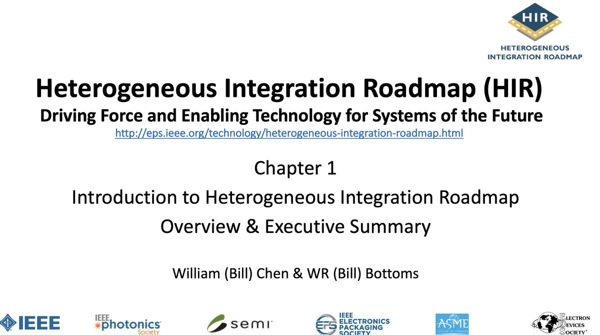ASE's Bill Chen will introduce the HI Roadmap & underscore the tremendous value it brings to our industry during webinars on Wed May 6th. Two different timezone options(8am PST https://t.co/XNZZa107UZ + 5pm PST  https://t.co/h9c9z1paxR) See links to join.Fab way to learn more!😉 https://t.co/R5FrRNSUQu