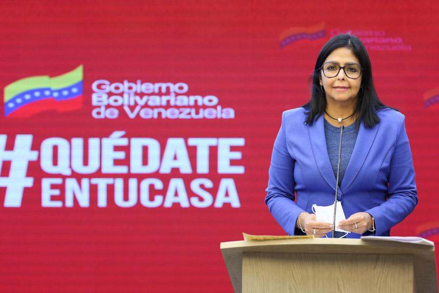 """Cancillería Venezuela 🇻🇪 в Twitter: """"Vicepresidenta ejecutiva, Delcy  Rodríguez informa que se han detectado 6 nuevos casos de #Covid_19 2 en el  estado Bolívar (procedentes de Manaos) y 4 en Nueva Esparta. #"""