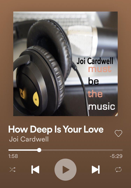#NowPlaying #music #house #dance #JoiCardwell pic.twitter.com/kfJGmwQPup
